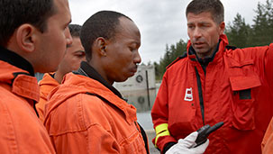 International operations of the rescue services